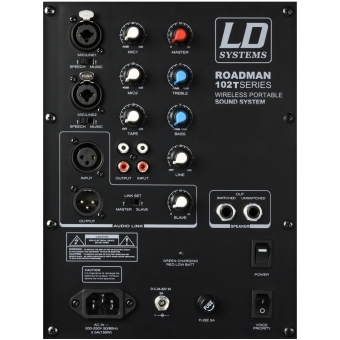 LD Systems Roadman 102 HS B6 - Portable PA Speaker with Headset #3