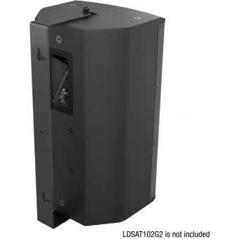 LD Systems SAT 102 G2 WMB - Swivel wall mount for SAT 102 G2 black #2