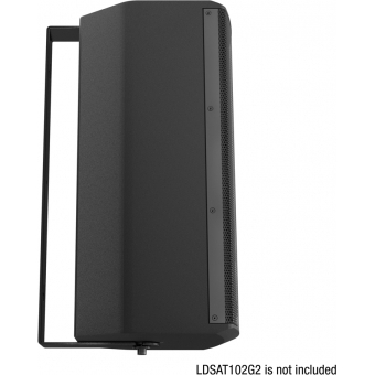 LD Systems SAT 102 G2 WMB - Swivel wall mount for SAT 102 G2 black