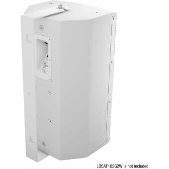 LD Systems SAT 102 G2 WMB W - Swivel wall mount for SAT 102 G2 white