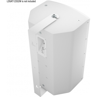 LD Systems SAT 122 G2 WMB W - Swivel wall mount for SAT 122 G2 white #2