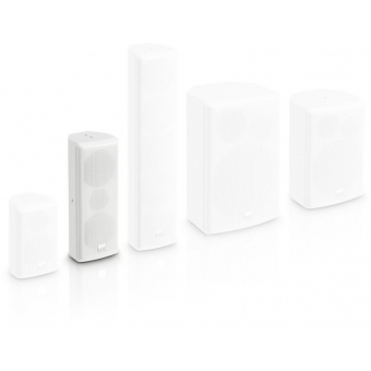 "LD Systems SAT 242 G2 W - 2 x 4"" passive Installation Speaker white #3"