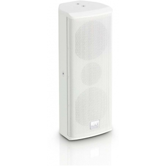 "LD Systems SAT 242 G2 W - 2 x 4"" passive Installation Speaker white"