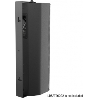 LD Systems SAT 262 G2 WMB - Swivel wall mount for SAT 262 G2 black #2