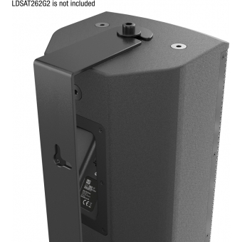 LD Systems SAT 262 G2 WMB - Swivel wall mount for SAT 262 G2 black