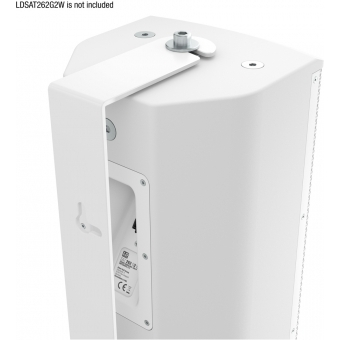 LD Systems SAT 262 G2 WMB W - Swivel wall mount for SAT 262 G2 white