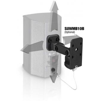 "LD Systems SAT 42 G2 - 4"" passive Installation Monitor black (pair) #4"