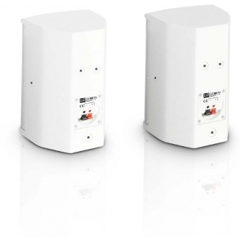 """LD Systems SAT 42 G2 W - 4"""" passive Installation Monitor white (pair) #2"""