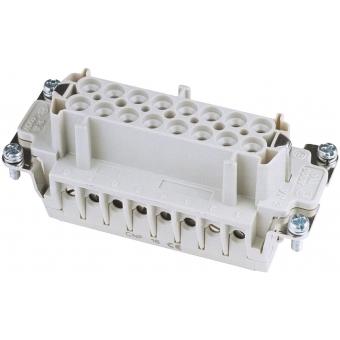 ILME Socket Inserts 16-pin 16A,Screw Terminal