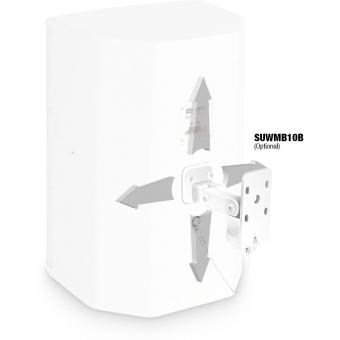 "LD Systems SAT 82 G2 W - 8"" Installation Monitor passive white #4"