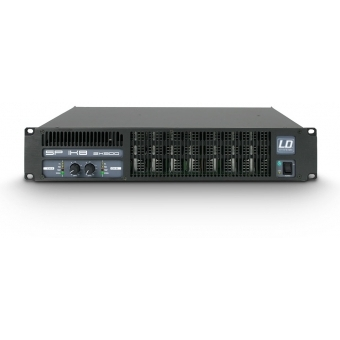 LD Systems SP 1K8 - PA Power Amplifier 2 x 880 W 2 Ohm