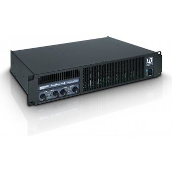 LD Systems SP 44K - PA Power Amplifier 4 x 980 W 2 Ohm
