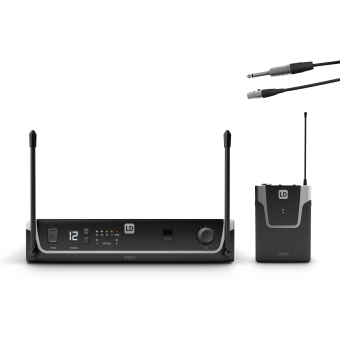 LD Systems U304.7 BPG - Wireless Microphone System with Bodypack and Guitar Cable