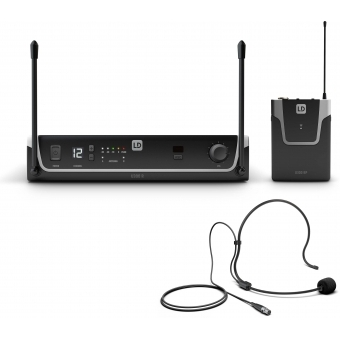 LD Systems U304.7  BPH - Wireless Microphone System with Bodypack and Headset - 470 - 490 MHz