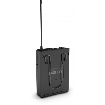 LD Systems U304.7 BPH 2 - Dual - Wireless Microphone System with 2 x Bodypack and 2 x Headset - 470 - 490 MHz #8
