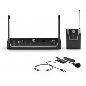 LD Systems U304.7 BPW - Wireless Microphone System with Bodypack and Brass Instrument Microphone