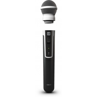 LD Systems U304.7 HHD - Wireless Microphone System with Dynamic Handheld Microphone - 470 - 490 MHz #8