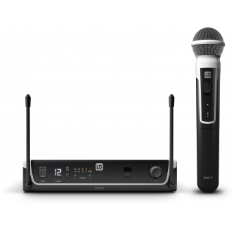 LD Systems U304.7 HHD - Wireless Microphone System with Dynamic Handheld Microphone - 470 - 490 MHz