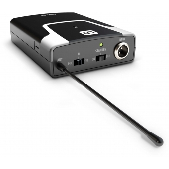 LD Systems U305.1 BPG - Wireless Microphone System with Bodypack and Guitar Cable #12