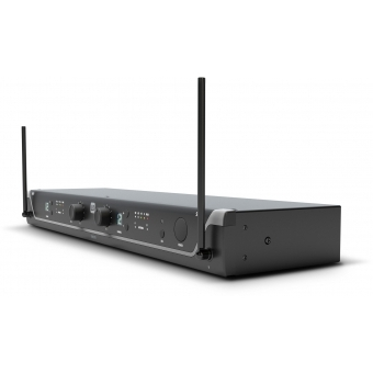 LD Systems U305.1 BPH 2 - Dual - Wireless Microphone System with 2 x Bodypack and 2 x Headset - 514 - 542 MHz #6