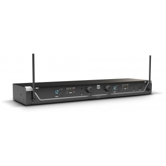 LD Systems U305 BPH 2 - Dual - Wireless Microphone System with 2 x Bodypack and 2 x Headset - 584 - 608 MHz #2