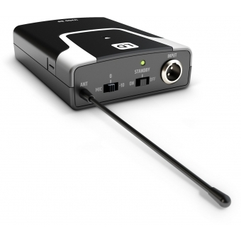 LD Systems U306 BPG - Wireless Microphone System with Bodypack and Guitar Cable #12