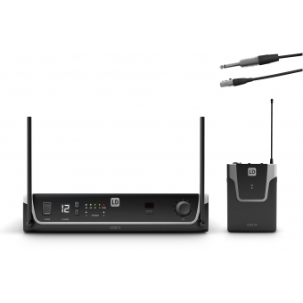 LD Systems U306 BPG - Wireless Microphone System with Bodypack and Guitar Cable