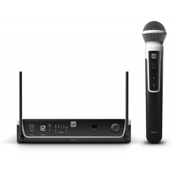 LD Systems U306 HHD - Wireless Microphone System with Dynamic Handheld Microphone - 655 - 679 MHz