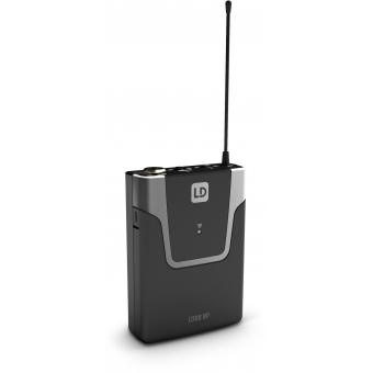 LD Systems U308 BPH 2 - Dual - Wireless Microphone System with 2 x Bodypack and 2 x Headset - 863 - 865 MHz + 823 - 832 MHz #7