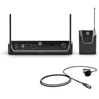 LD Systems U308 BPL - Wireless Microphone System with Bodypack and Lavalier Microphone