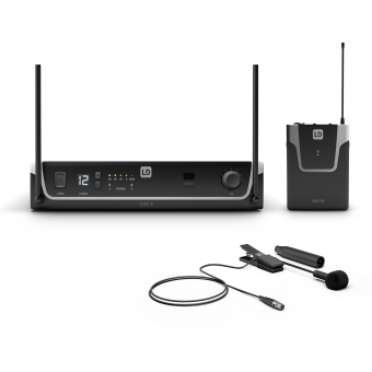 LD Systems U308 BPW - Wireless Microphone System with Bodypack and Brass Instrument Microphone