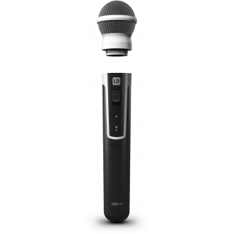 LD Systems U308 HHD 2 - Dual - Wireless Microphone System with 2 x Dynamic Handheld Microphone- 863 - 865 MHz+ 823 - 832 MHz #8