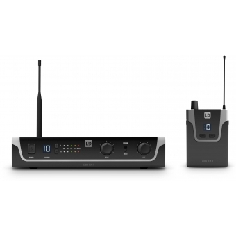 LD Systems U308 IEM HP - In-Ear Monitoring System with Earphones - 863 - 865 MHz + 823 - 832 MHz #2