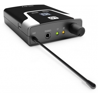 LD Systems U308 IEM HP - In-Ear Monitoring System with Earphones - 863 - 865 MHz + 823 - 832 MHz #12