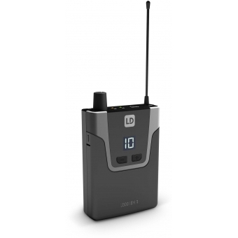 LD Systems U308 IEM HP - In-Ear Monitoring System with Earphones - 863 - 865 MHz + 823 - 832 MHz #7