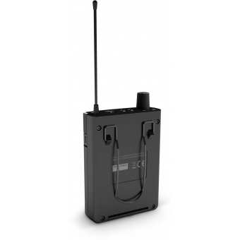 LD Systems U308 IEM HP - In-Ear Monitoring System with Earphones - 863 - 865 MHz + 823 - 832 MHz #8