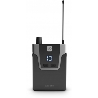 LD Systems U308 IEM HP - In-Ear Monitoring System with Earphones - 863 - 865 MHz + 823 - 832 MHz #9