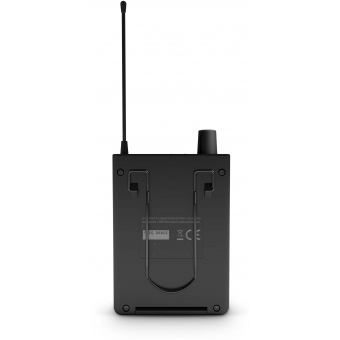 LD Systems U308 IEM HP - In-Ear Monitoring System with Earphones - 863 - 865 MHz + 823 - 832 MHz #10