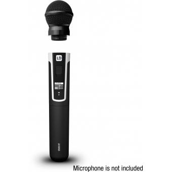 LD Systems U500 DH - Hypercardioid Dynamic Microphone Head #2