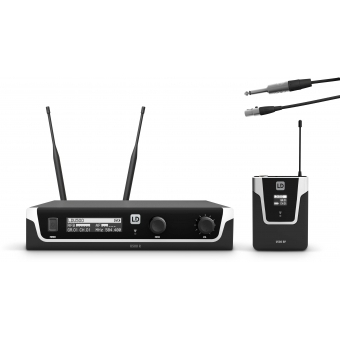LD Systems U505 BPG - Wireless Microphone System with Bodypack and Guitar Cable - 584 – 608 MHz.