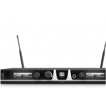LD Systems U505 BPL 2 - Wireless Microphone System with 2 x Bodypack and 2 x Lavalier Microphone #2