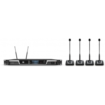 LD Systems U505 CS 4 - 4-Channel Wireless Conference System #10