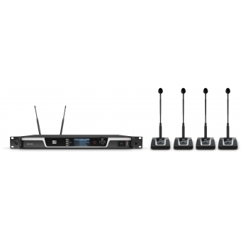 LD Systems U505 CS 4 - 4-Channel Wireless Conference System