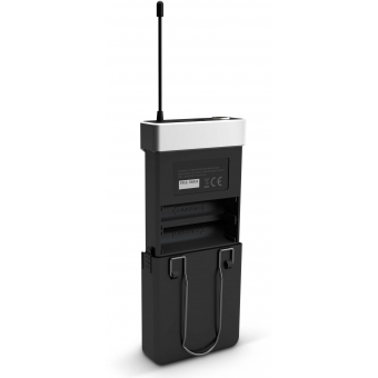 LD Systems U505 HBH 2 - Wireless Microphone System with Bodypack, Headset and Dynamic Handheld Microphone #11