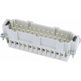 ILME Plug Insert 24-pin 16A,Screw Terminal