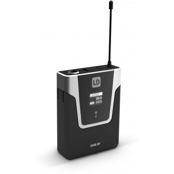 LD Systems U506 UK BPHH - Wireless Microphone System with Bodypack and Headset skin-coloured #6