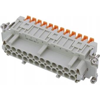 ILME Squich socket insert 24-pin 16A 500V