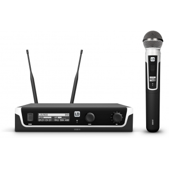 LD Systems U506 UK HHD - Wireless Microphone System with Dynamic Handheld Microphone -  606 – 614 MHz.