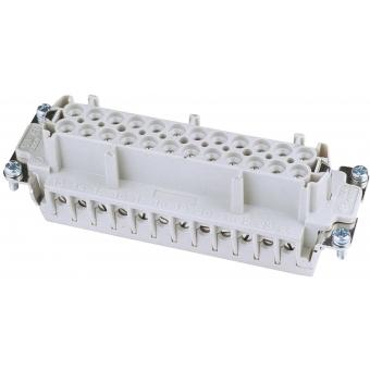 ILME Socket Insert 24-pin 16A,Screw Terminal