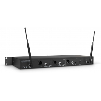 LD Systems U508 BPH 2 - Dual - Wireless Microphone System with 2 x Bodypack and 2 x Headset #3